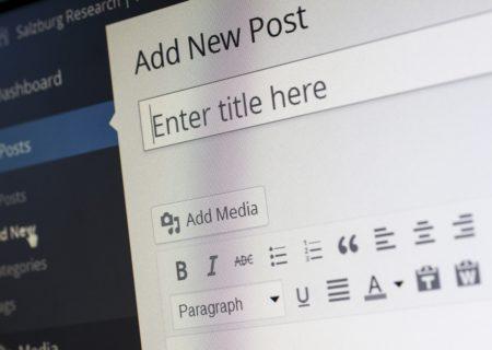 Blogging stress management