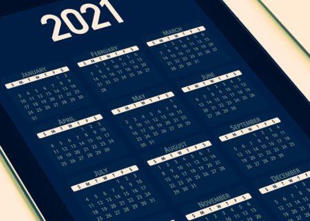 2021 Shedule